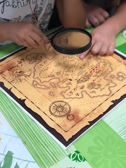 Mapa skarbów