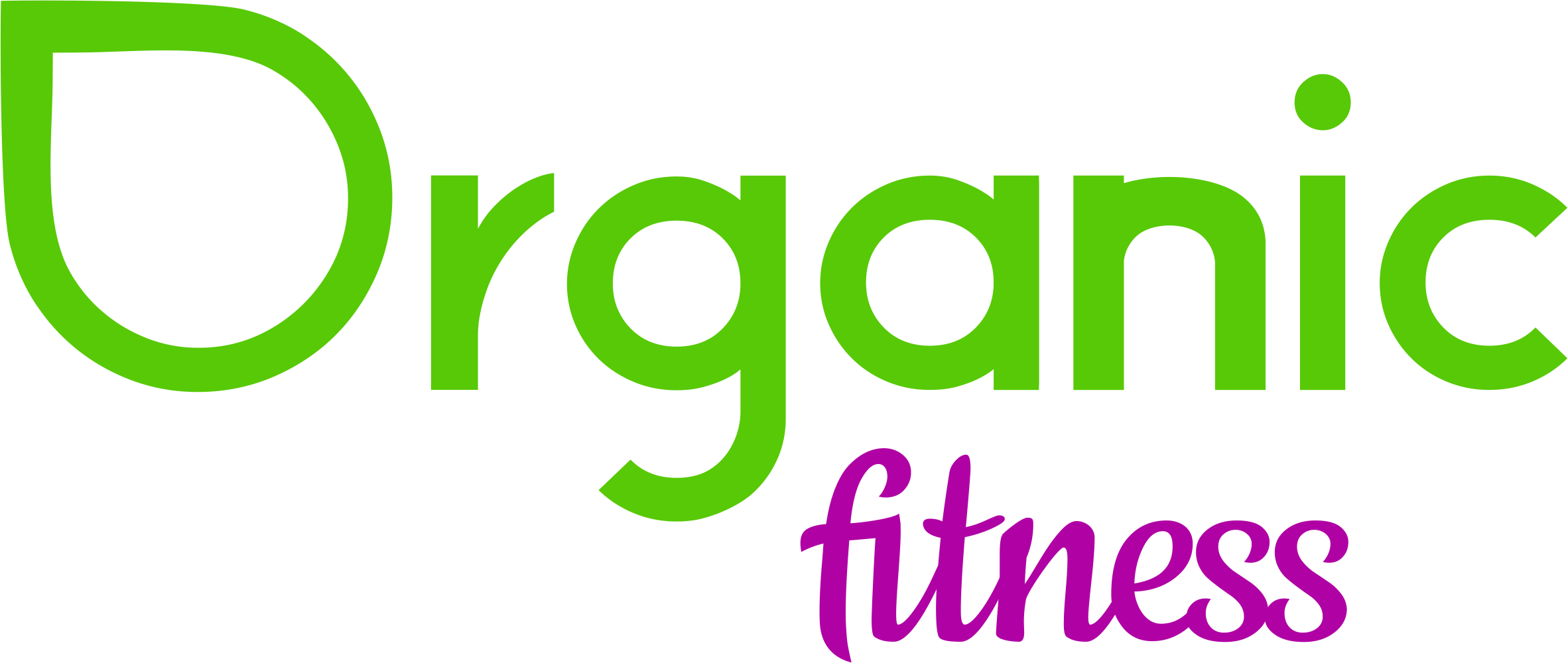 logo Organic fitness