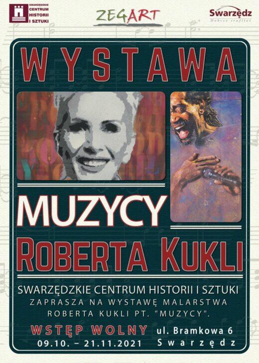 Plakat Wystawa MUZYCY R. Kukli